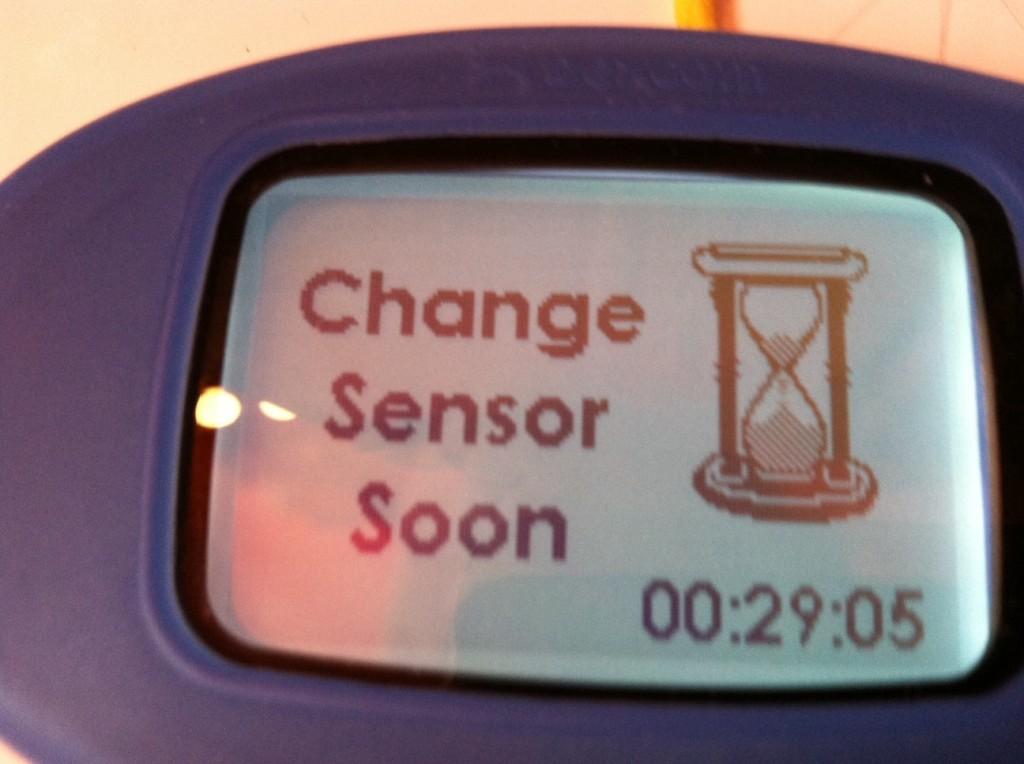 Sensor change