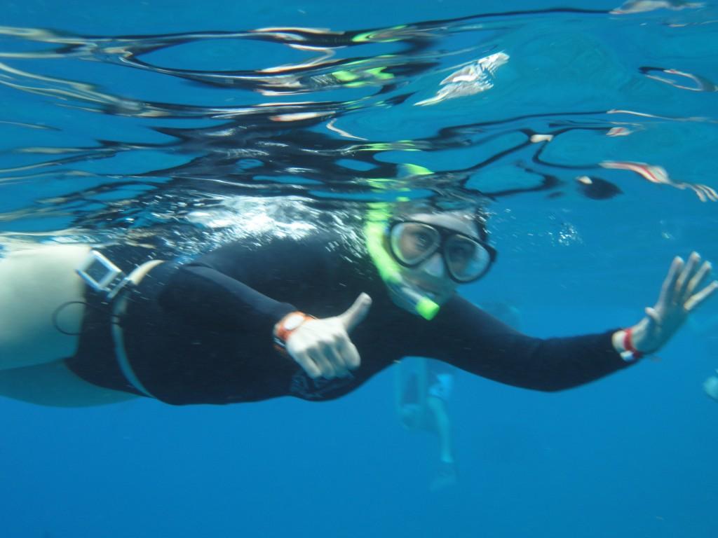 Pump snorkel