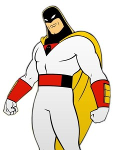Can I have Space Ghost?  Chiseled jaw and funny? Check.
